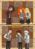 The Big Four in Hogwarts - Fangirls by Queenezha4