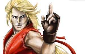 Ken Masters SF by MomentsOfBloom