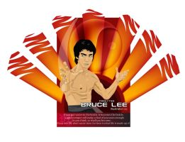 Bruce Lee by p0rkytso