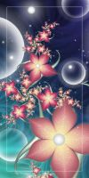 Flowers And Bubbles by CoffeeToffeeSquirrel