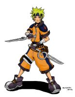 Kingdom Hearts - Naruto by Kinoichi