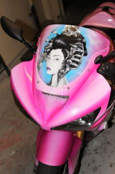 Kid Styles Custom 'Geisha'Bike by KidStyles