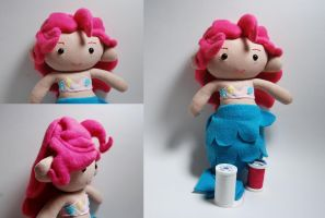 Pinkie Pie Mermaid Plush by SeamsLegit