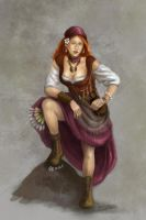Marga The Gypsy by belvane