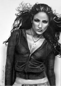 Jennifer Lopez by byMichaelX