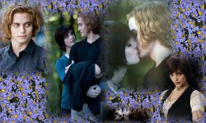 Alice x Jasper wallpaper by elein-me