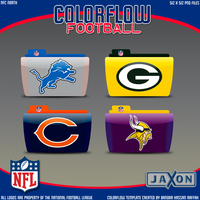 Colorflow Football Set 4 by JayJaxon