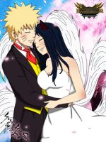 Naruto and Ahri wedding by nakamurakenji1993