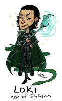 Loki - Heir of Slytherin by Kiriska