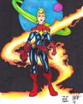 The Last Captain Marvel Colored by FrischDVH