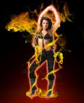 Dancing in Fire by gfx-micdi-designs