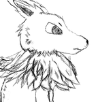 Jolteon Sketch by JohnnyVLe784