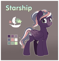 [Updated Ref] Starship by StyxLady