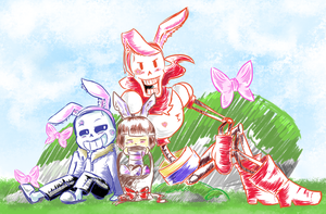 Happy Easter! by Purrsephone12