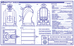 Battle TARDIS Schematics Page 1 (REVISED) by Time-Lord-Rassilon