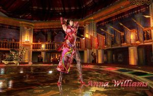 Anna Williams in the Casino by victor-rochefort