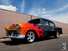 One Hot 55 Chevy by Swanee3