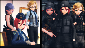 [MMD] A51 directives by AbyssLeo