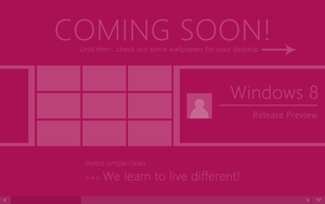 Windows 8 Release Preview Wallpapers by andreascy