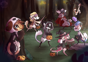 The Hallobean Trick Or Treat by NoyiiArts