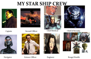 My Starship Crew by Mr-Wolfman-Thomas