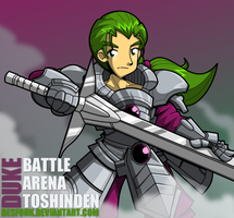 Battle Arena Toshinden - Duke B Rambert by desfunk