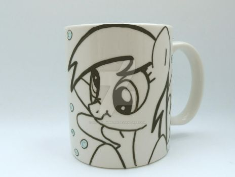FIM Muffin Pony Mug by SalemSparkler