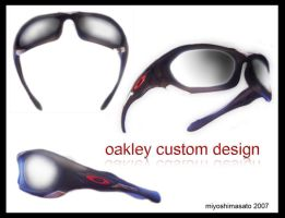 oakley monster dog custom desi by miyoshimasato