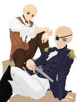 Male Pirates .:base:. by MisoriFire