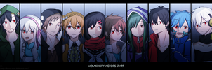 Mekakucity Actors Start by Hinna-chan