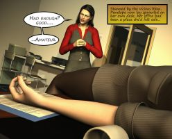 Penelope - Working Late 33 by Torqual3D