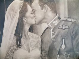 William and Kate by Djoefie