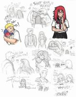 Naruto sketches: With Hope on Our Lips by Kiyomi-chan16