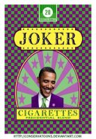 Joker Cigarettes by Conservatoons