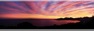 Sunset on the French Riviera by digitalminded