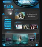 t i f a-2008 Website Home Page by tifa96