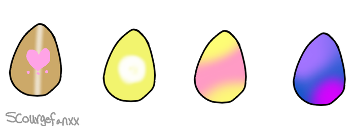 Mystery Egg Adopts [Closed] by scourgefanxx