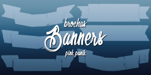 Banners brushes by PinkPaanik
