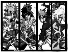 Naruto Shippuden Warriors by Randazzle100