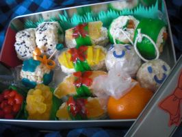 Candy Sushi Bento by level5pencil