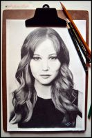 Jennifer Lawrence by Gigi-Avila