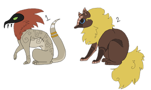 Creature Adopts[10 points] by Kydox-Adopts