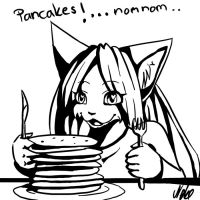 Pancake Cat by Neotheta
