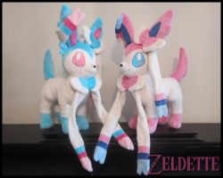 Sylveons ! by Miss-Zeldette
