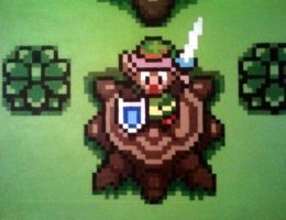 Zelda:A Link to the Past Pixel Painting by PixelBuddy