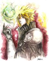 Cloud Strife I by MidNiteAssassin