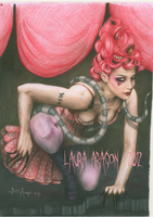 Emilie Autumn rats by circus9aragon