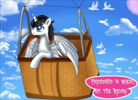 Commission: Friendship is Magic: Off the Record by pridark