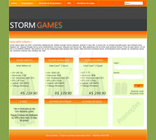 Storm Games Site by DEV-RB
