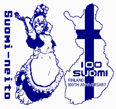 Suomi Finland 100 NES version by kaztah